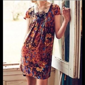 MAEVE for Anthropologie dress with back zipper